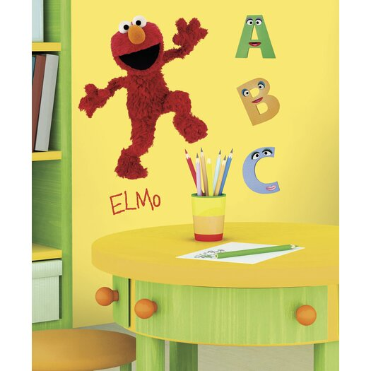 Room Mates Sesame Street Licensed Designs Elmo Giant Wall Decal