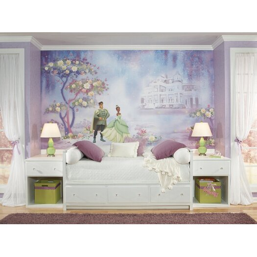 Room Mates Extra Large Murals The Princess and The Frog Wall Decal