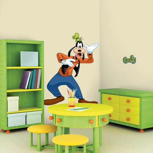 Room Mates Licensed Designs Goofy Wall Decal