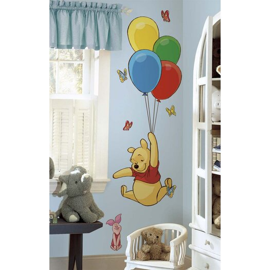 Room Mates Licensed Designs Pooh and Piglet Wall Decal