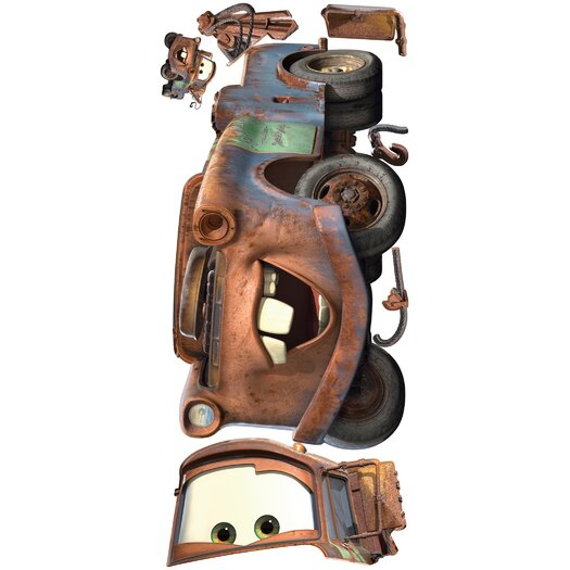 Room Mates Cars Mater Giant Wall Decal