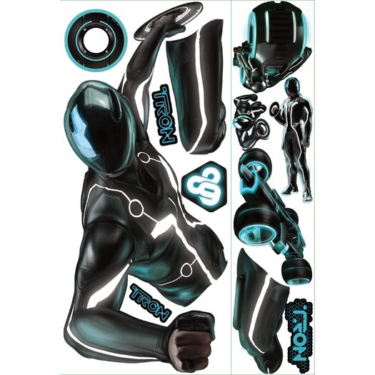 Room Mates Tron Sam Giant Wall Decal