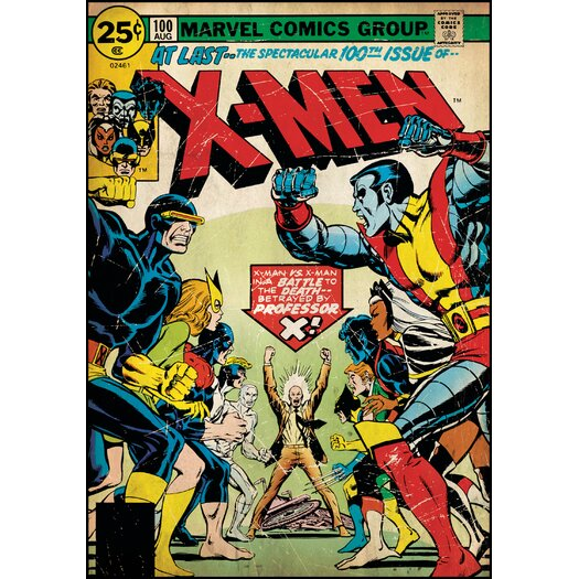 Room Mates X-Men Comic Book Cover Wall Decal