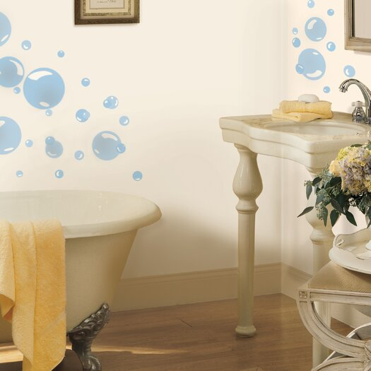 Room Mates Bubbles Wall Decal