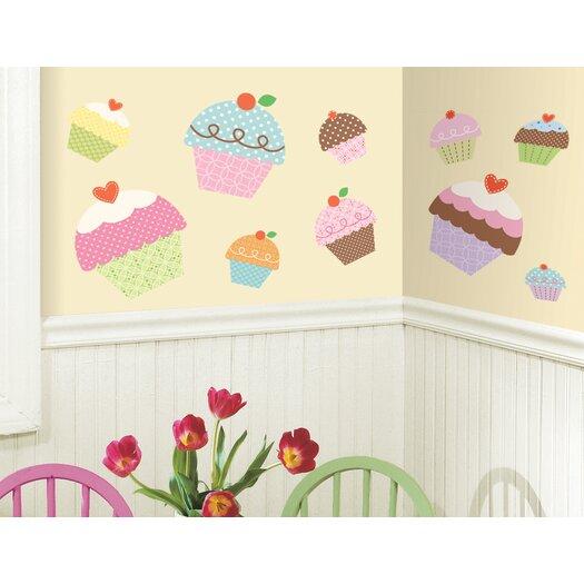 Room Mates Happi Cupcake Giant Wall Decal