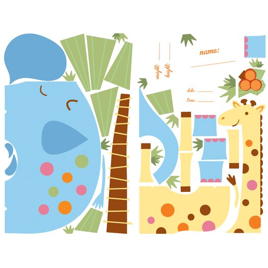 Room Mates It's a Baby Giant Wall Decal Set
