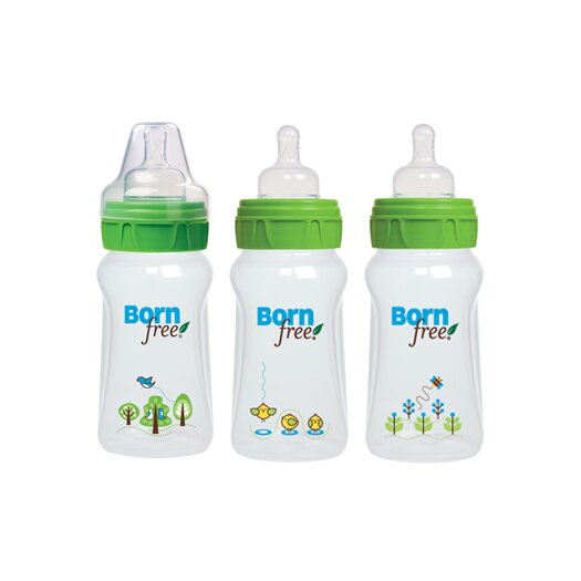 Born Free Decorated Bottle (Three Pack)