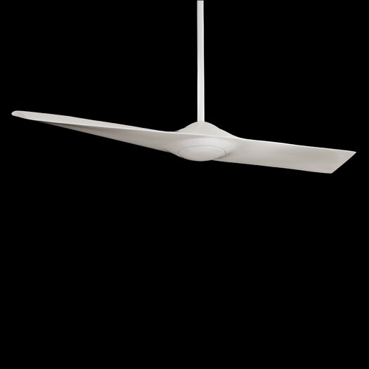 """Minka Aire 52"""" Wing 1 Blade Ceiling Fan with Remote Control"""