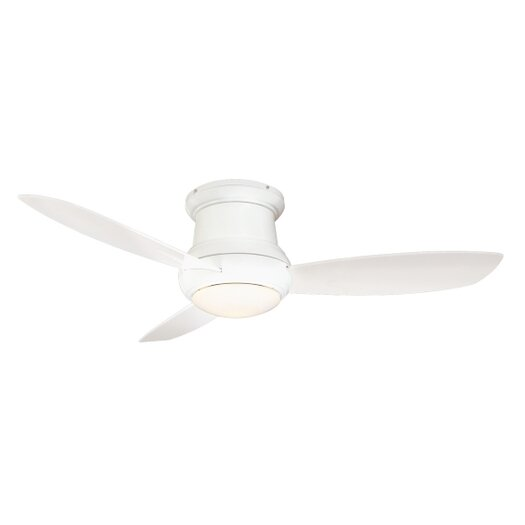 "Minka Aire 52"" Concept II 3 Blade Outdoor Ceiling Fan with Wall Mount"