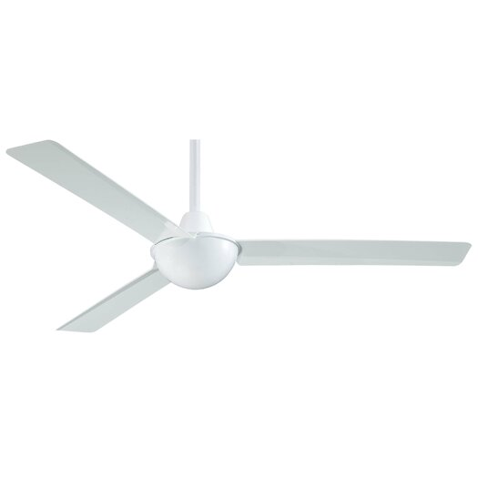 "Minka Aire 52"" Kewl 3 Blade Ceiling Fan with Wall Remote"