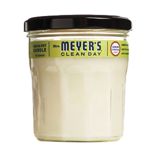 Mrs. Meyers Lemon Verbena Soy Candle