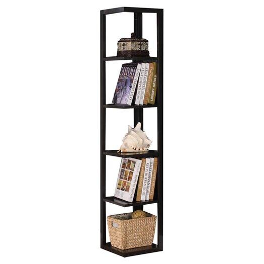 """InRoom Designs 64"""" Corner Bookcase"""