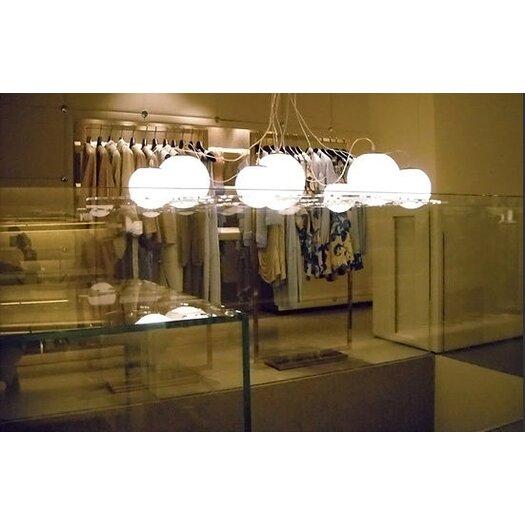 """Oluce Plateau 47.2"""" Suspension Lamp"""
