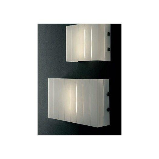 "Oluce Pin Stripe 2 Light 19.2""  Wall Lamp"