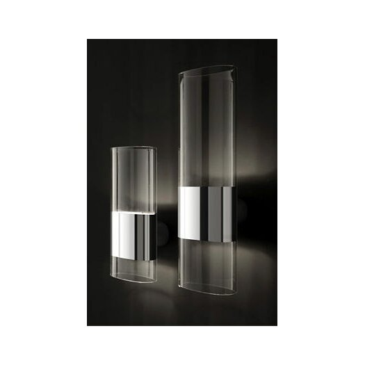 Oluce Line 2 Light Wall Lamp