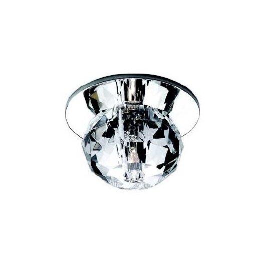 WAC Lighting Round Cut Crystal Beauty Spot Light