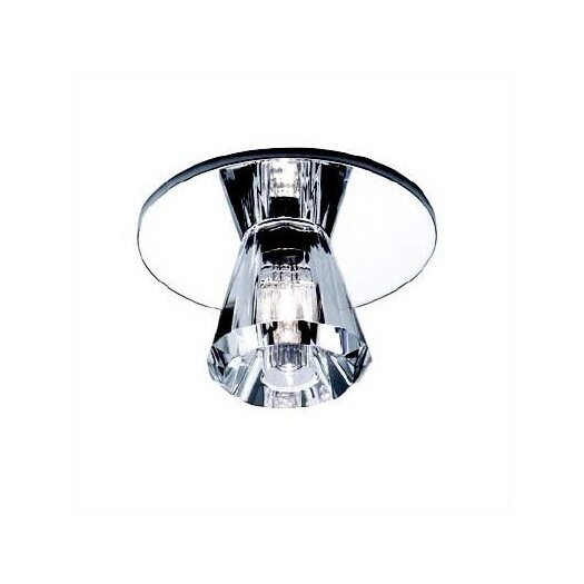 WAC Lighting Beauty Spot Pyramid Crystal Accent Shade in Clear