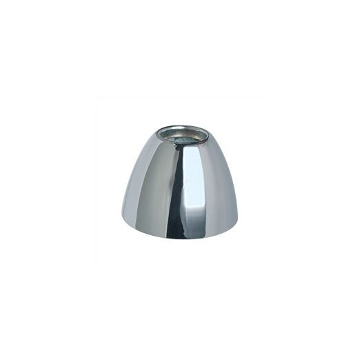 WAC Lighting Chrome Bell Track Head Shade