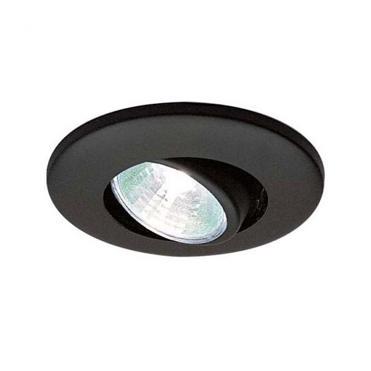 "WAC Lighting Low Voltage Eyeball Miniature Cabinet 2.38"" Recessed Kit"