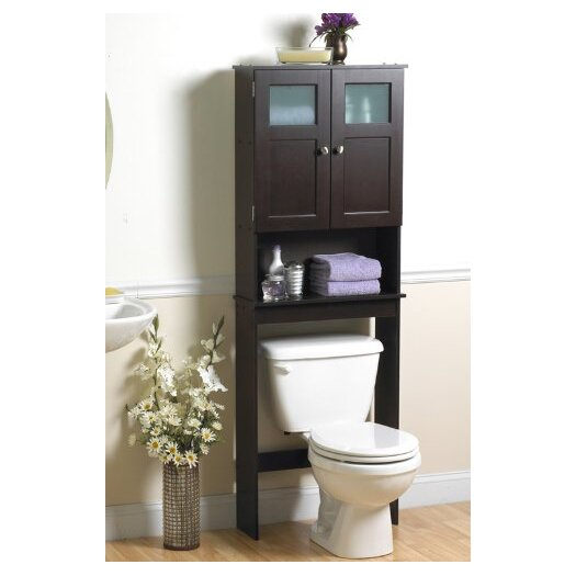 "Zenith Products 23.25"" x 66.5"" Over the Toilet Cabinet II"