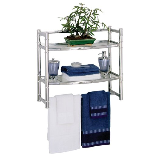 "Zenith Products 21"" x 18.75"" Wall Mounted Shelf"