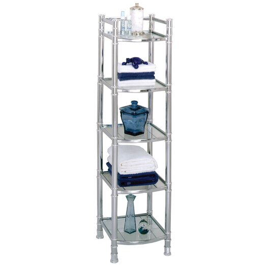 "Zenith Products 14.5"" x 51"" Bathroom Shelf"