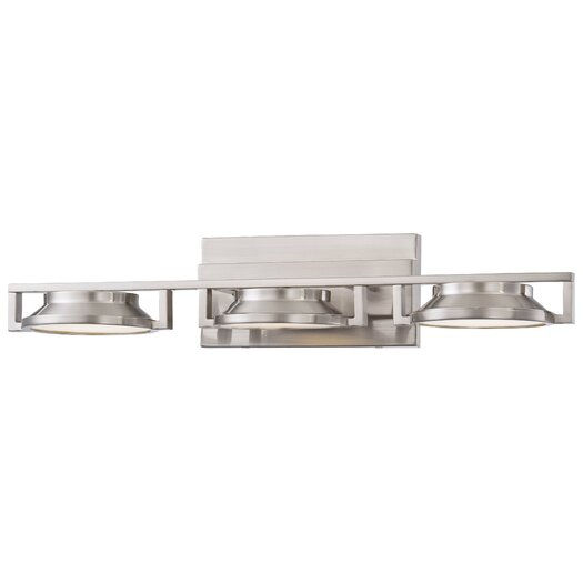 George Kovacs by Minka Loupe 3 Light Bath Vanity Light