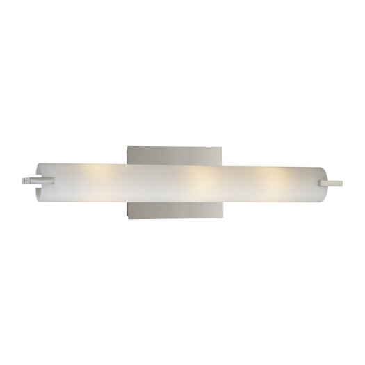 George Kovacs by Minka Tube 3 Light Vanity Light