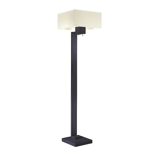 George Kovacs by Minka Step Floor Lamp with Shade