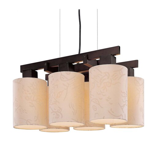 George Kovacs by Minka Kimono 6 Light Chandelier