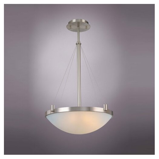George Kovacs by Minka Suspended 4 Light Inverted Pendant