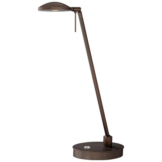 """George Kovacs by Minka George's Reading Room 19.5"""" H Table Lamp with Bowl Shade"""