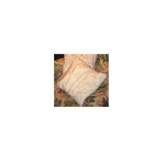 Posh Pelts Arctic Fox Faux Fur Pillow Cover