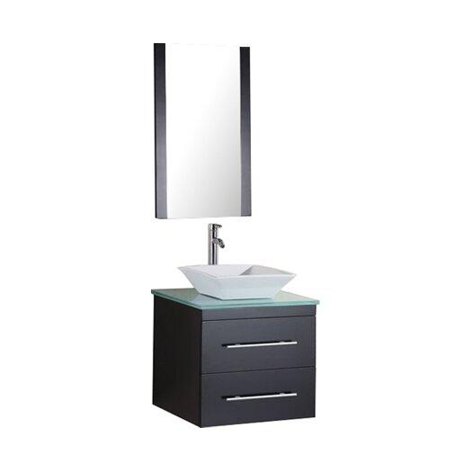 """Design Element Portland Elton 26"""" Single Sink Vanity Set"""