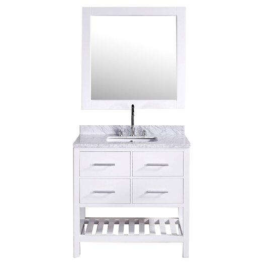 "Design Element 36"" Single Bathroom Vanity Set"