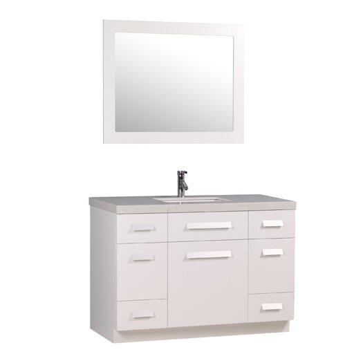 "Design Element Moscony 48"" Vanity Set with Single Sink"