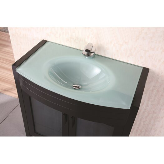 "Design Element Prestige 36"" Single Sink Vanity Set"