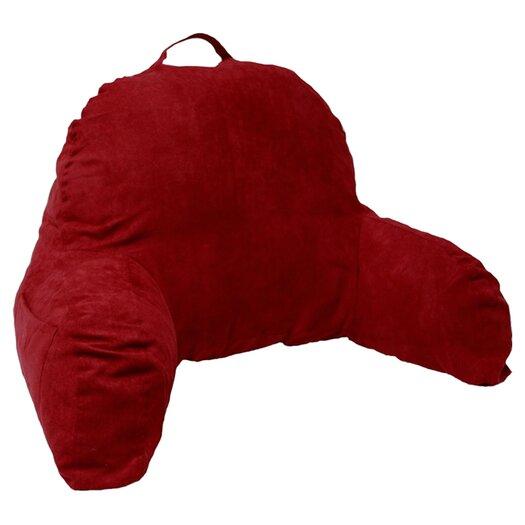 Deluxe Comfort Microsuede Reading Bed Rest Pillow