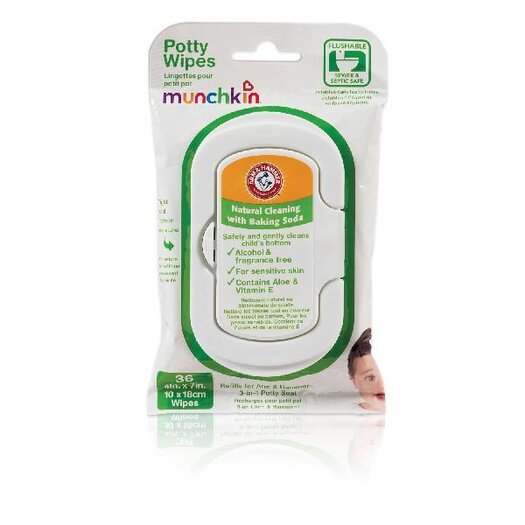 Munchkin Arm and Hammer Potty Wipes