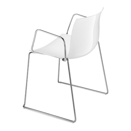 Arper Catifa 53 Polypropylene Armchair with Sled Base
