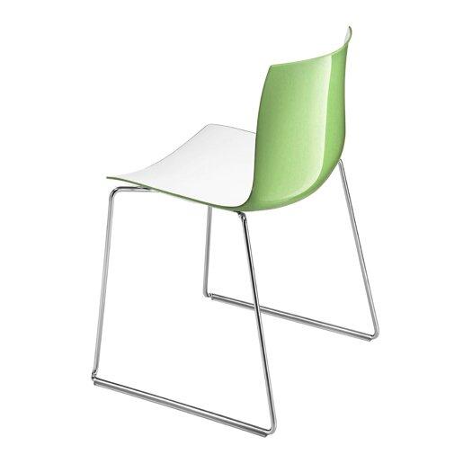 Arper Catifa 46 Two Tone Sled Chair