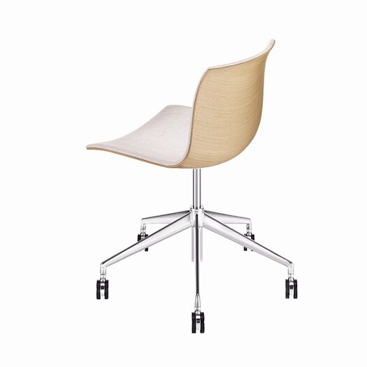 Arper Catifa 53 Wooden 5-Way Task Chair with Gas Lift on Castors