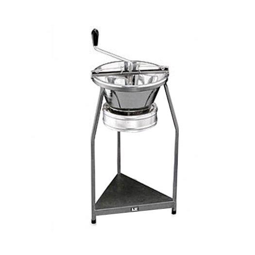 Paderno World Cuisine Pro Tinned Steel 15-Quart Food Mill On Stand
