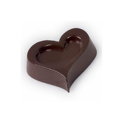 Paderno World Cuisine Chocolate Mold in Heart Shape