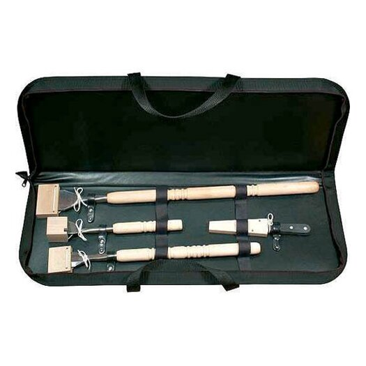 Paderno World Cuisine 4 Piece Ice Carving Tool Set