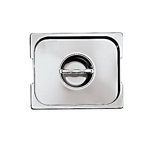 Paderno World Cuisine Lid with Seal and Handles for Hotel Pan in Silver