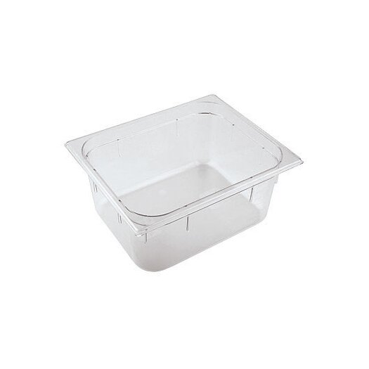 Paderno World Cuisine 20.88 x 12.75 Inch Polycarbonate Hotel Food Pan