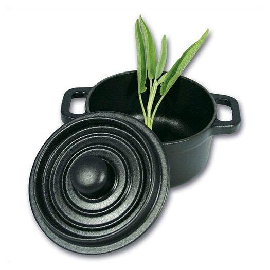 Paderno World Cuisine 0.33-qt. Cast Iron Round Cocotte