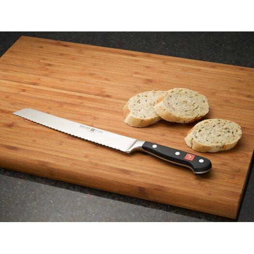 "Wusthof Classic 9"" Double Serrated Bread Knife"