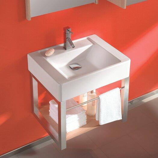 """Bissonnet Universal 24"""" Single Casual Bathroom Vanity Set"""